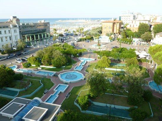 Hotel San Marco: Vista dalla Piscina