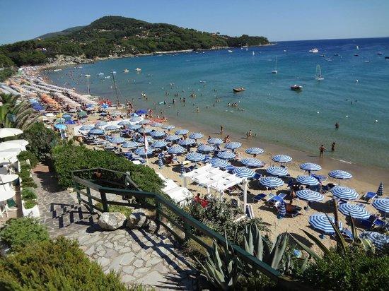 Hotel Antares: spiaggia lido di Capoliveri