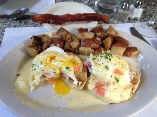 66 Steak and Seafood: Lobster Eggs Benedict