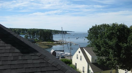 Greenleaf Inn at Boothbay Harbor: View from room 1