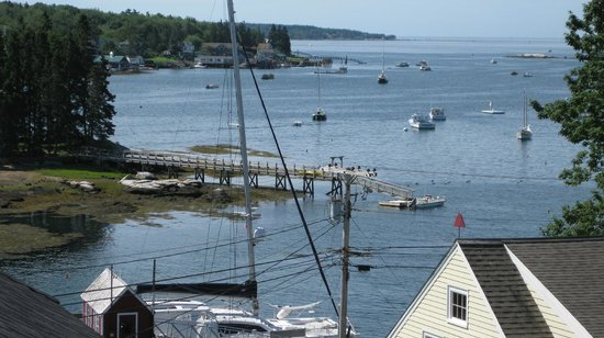 Greenleaf Inn at Boothbay Harbor: View from room 2