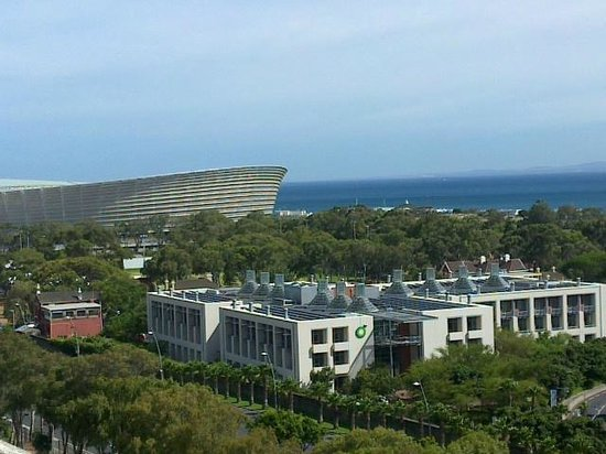 Protea Hotel by Marriott Cape Town Cape Castle: Greenpoint stadium from 9th floor