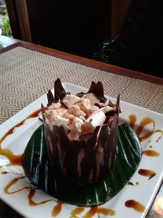 Blue Orchid: chocolate yummy pud