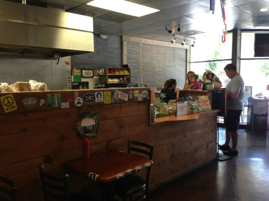 Chubs Subs and Wings : Chubs Daughter rockin the Front counter