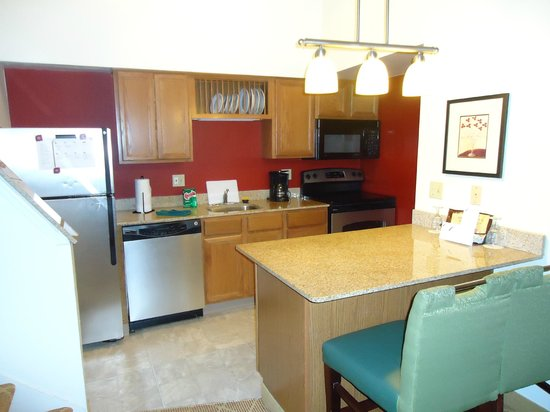 Residence Inn Rochester Henrietta: Kitchen
