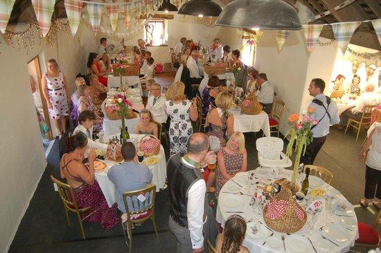 Nantgwynfaen Organic Farm: Games Barn, for parties, functions, weddings