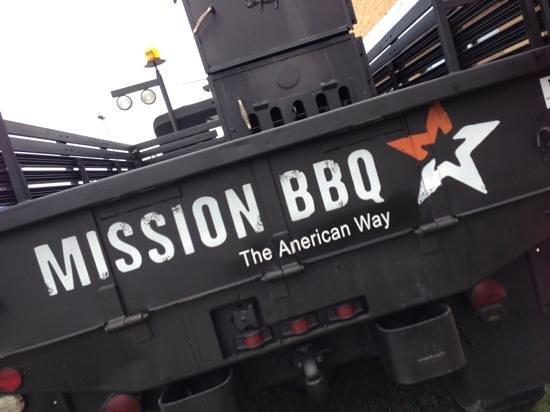 Mission BBQ: tailgate