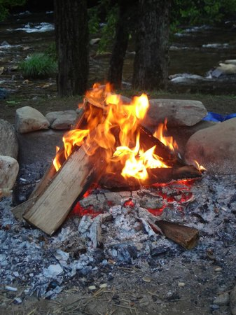 River Valley RV Park & Campground: fire
