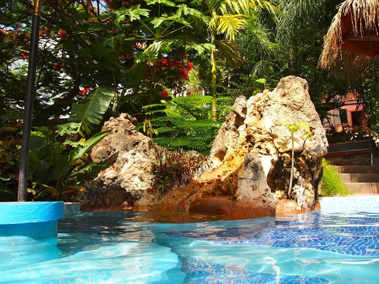 West Bay Lodge and Spa: Tropical pool