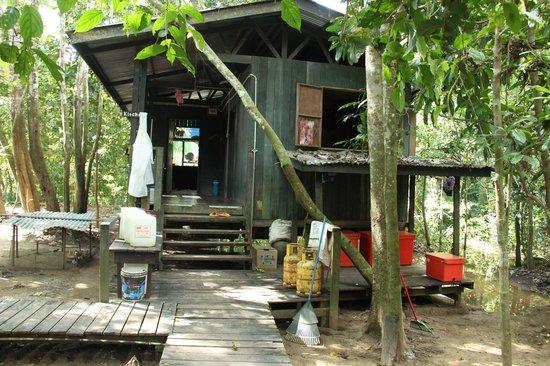 Uncle Tan Wildlife Camp: kitchen