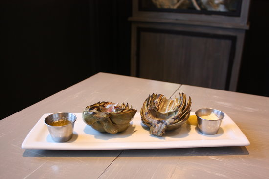 Lure Fish House : Grilled Artichoke