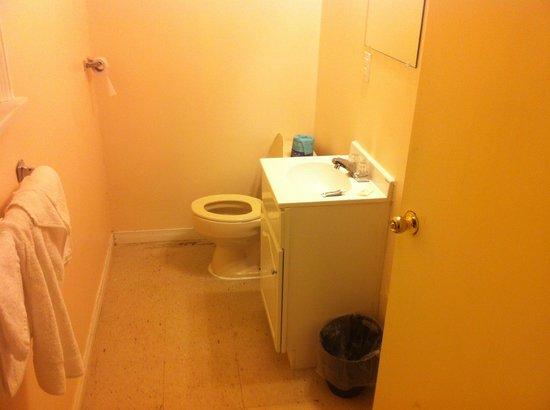 A-1 Motel: bathroom