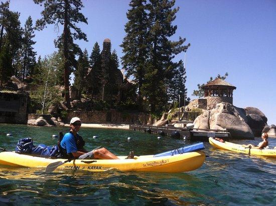 Tahoe Adventure Company : Kayak Trip to Thunderbird Lodge