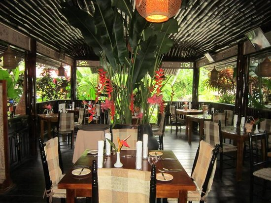 Fond Doux Plantation & Resort: One restaurant