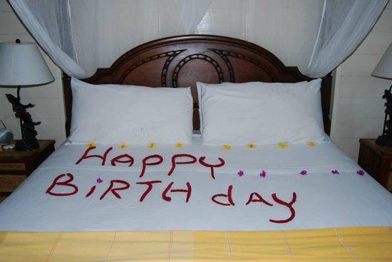 Fond Doux Plantation & Resort: Birthday surprise