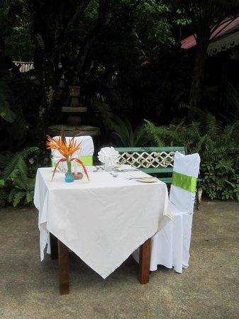 Fond Doux Plantation & Resort: Private birthday dinner