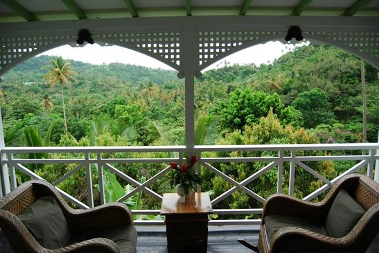 Fond Doux Plantation & Resort: View from our room