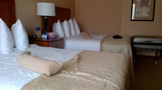 BEST WESTERN PLUS Langley Inn: 2 Queen Beds Room 129