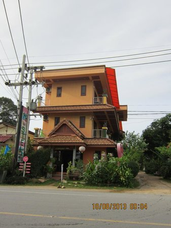 Samui Ton Rak Residence : Hotel view