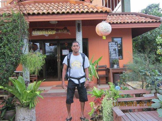 Samui Ton Rak Residence : Hotel enterence
