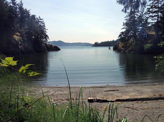 Doe Bay Resort and Retreat: View from Neptune Yurt