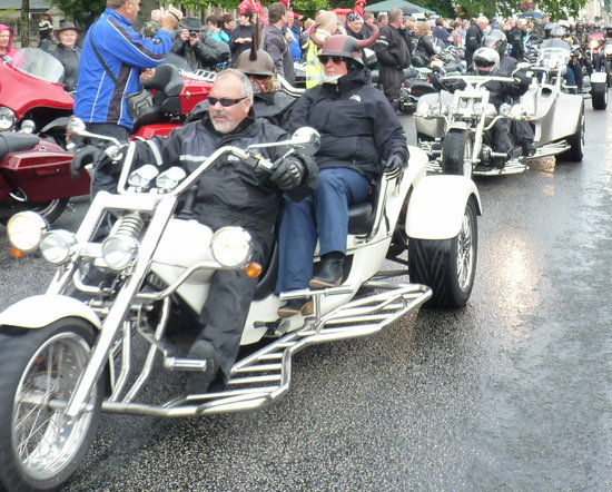 Tulach Ard House, Bed & Breakfast: Harley Weekend an Annual Event