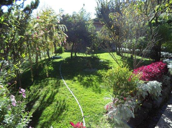 Hotel Samanapaq: gardens