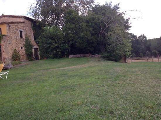 Hotel Mas Vilalonga Petit: entrada y entorno