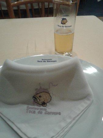 Toca da Garoupa : Tudo personalizado, copos, guardanapos, pratos
