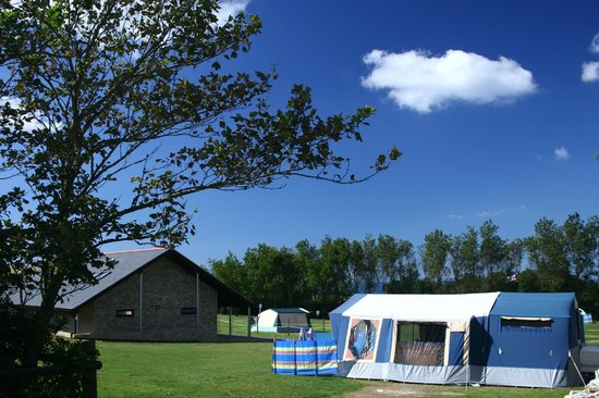 West Fleet Holiday Farm Campsite: West Fleet Holiday Farm. AA Graded Three Pennant Park