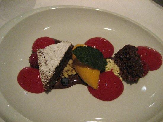 Lowen Strauss: Gourmet-Menü Dessert
