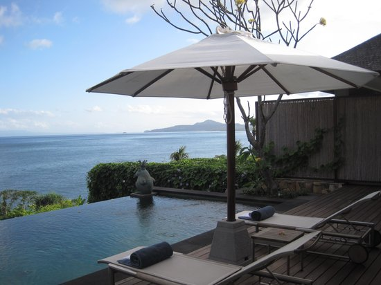 "Shunyata Villas Bali: In front of ""Sea Room"" villa"