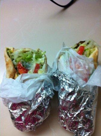 Z's: 1 gyro 1 falafel