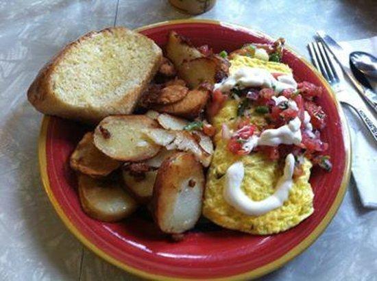 Wild Wood Cafe: Mattie's Omlette