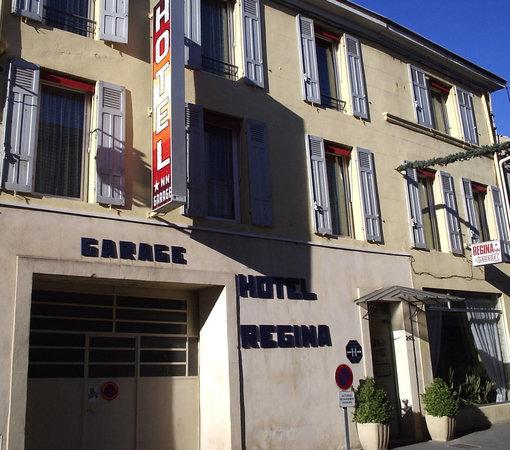 Hotel Regina: Façade principale