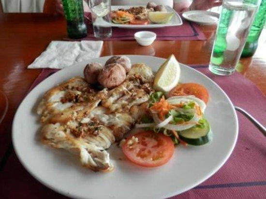 La Muralla : Our meals