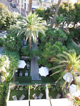 Hotel de Provence: View from the balcony