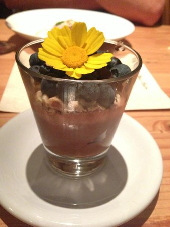 Doe Bay Resort & Retreat: Chocolate mouse...to. die. for. Doe Bay Cafe