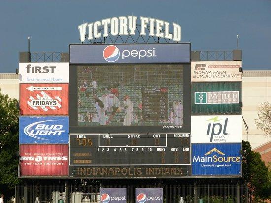 Victory Field: Score board