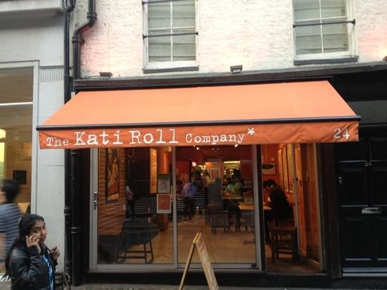 The Kati Roll Company: don't try... they will keep you waiting