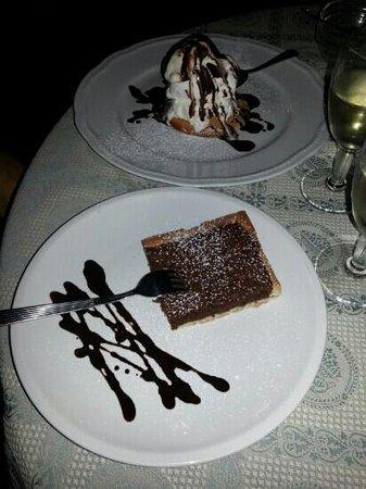 Villa Excelsa: Gli ottimi dolci :-)