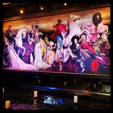 Hotel ZaZa Houston Museum District : Great Lobby Art