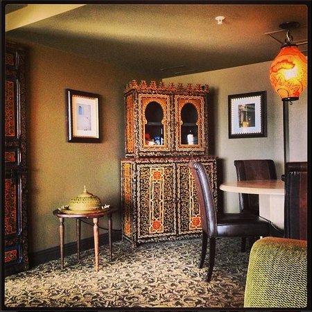 Hotel ZaZa Houston Museum District : Casablanca Suite