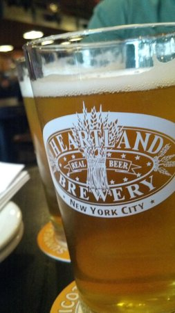 Heartland Brewery - Union Sq. : Empire Lager