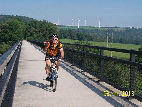 Get Out & Go Tours: Over the Salisbury Viaduct on the Great Allegheny Passage