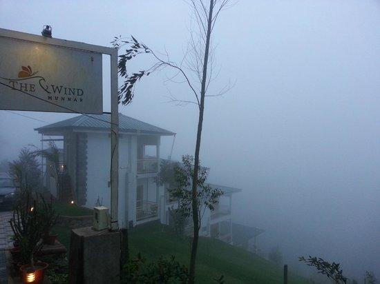 The Wind Munnar: clad in fog