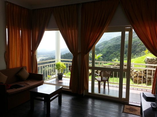 The Wind Munnar: view from the room