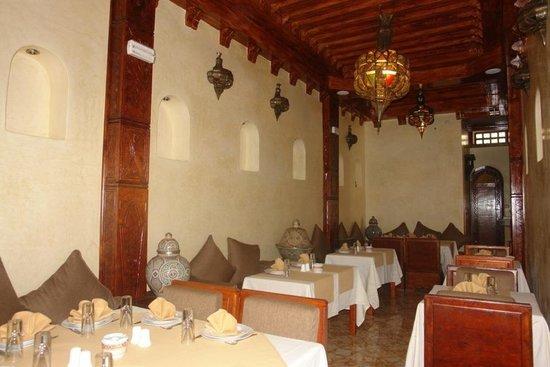 Restaurant l'Or Vert : Restaurant l or vert 5 rue laalouj Essaouira Tel 05 24 47 54 85 - 0666594578