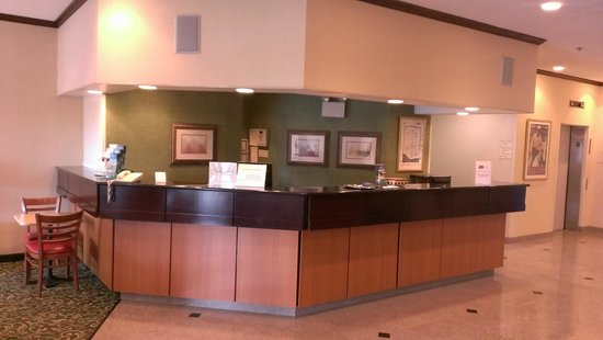 Fairfield Inn Philadelphia Great Valley/Exton: Front Desk