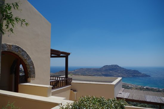 Stefanos Village Hotel : Zimmer mit Aussicht